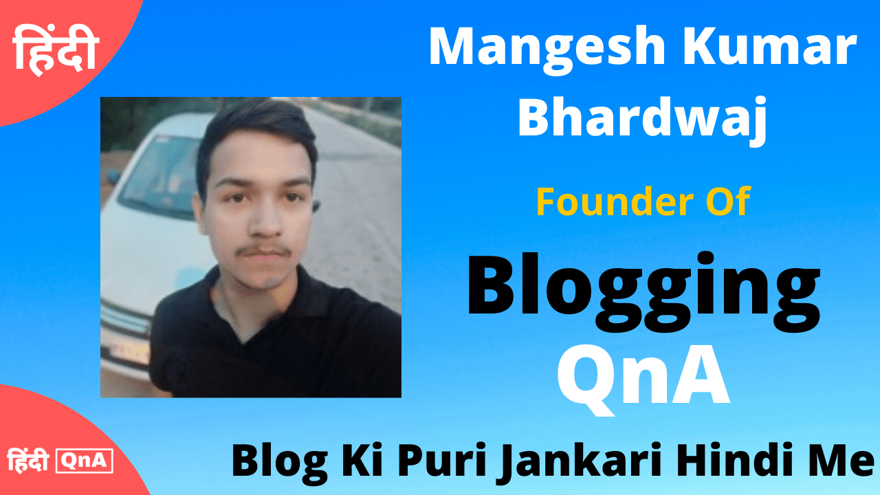 blogging qna